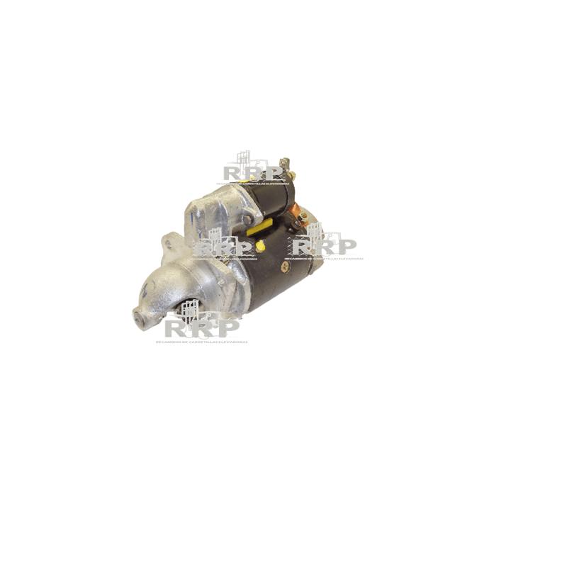 Motor de arranque Jungheinrich-9J - 24V 48V 80V Alternador Alternadores Asientos Bombas de Agua Bombas de agua Bombín de freno Cargadores Conectores Contactor De carga Diesel Eléctrica Eléctrico Estabilizadora Faros Frenos Macizas, superelásticas Máquinas de ocasión Motor de arranque Motores de arranque Motriz, para transpaleta, apilador y retráctil Ofertas/Ocasión Orbitrol Otros Pilotos Radiadores Ruedas 8´´ Ruedas 9´´ Ventilador de refrigeración