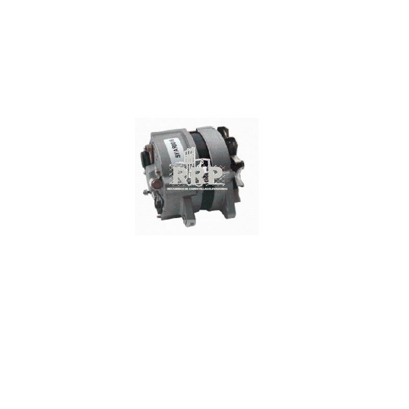 Alternador para Caterpillar-2C - 24V 48V 80V Alternador Alternadores Asientos Bombas de Agua Bombas de agua Bombín de freno Cargadores Conectores Contactor De carga Diesel Eléctrica Eléctrico Estabilizadora Faros Frenos Macizas, superelásticas Máquinas de ocasión Motor de arranque Motores de arranque Motriz, para transpaleta, apilador y retráctil Ofertas/Ocasión Orbitrol Otros Pilotos Radiadores Ruedas 8´´ Ruedas 9´´ Ventilador de refrigeración